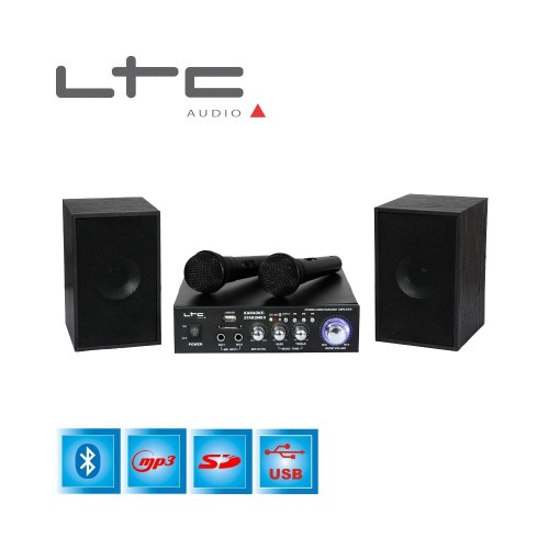 ΣΕΤ ΡΑΔΙΟ ΕΝΙΣΧΥΤΗΣ HI-FI + USB - MP3 + Bluetooth KARAOKE
