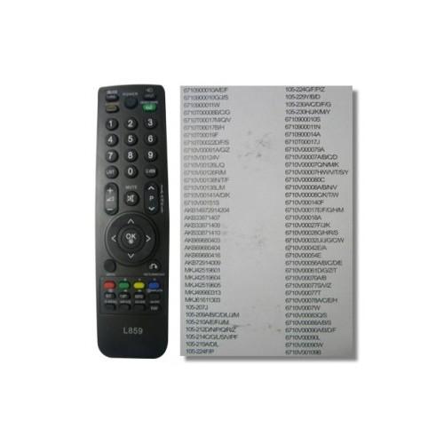 TV CONTROL LG LCD - UNIVERSAL