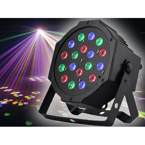 18 LED Mini LED Flat Par Light Christmas Stage lights