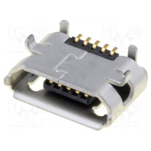 MICRO USB ΠΛΑΚΕΤΑΣ SMD MOLEX