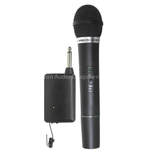 Wire & Wireless Professional KTV Wireless Microphone + Mic Receiver System
