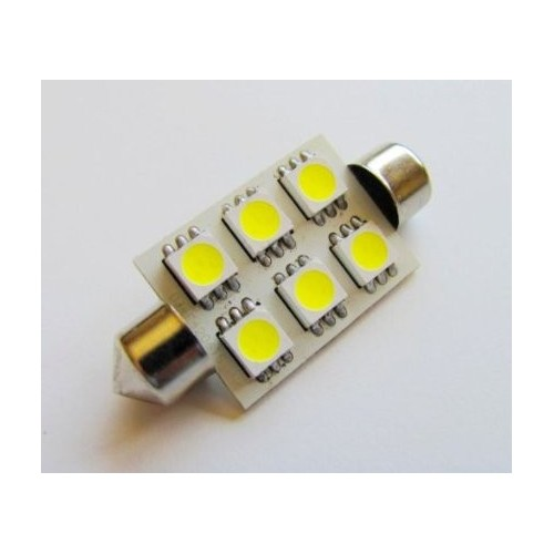 AUTO LED LAMP 42mm WHITE CANBUS