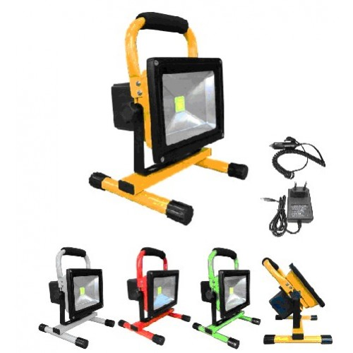 RECHARGEABLE FLOODLIGHT 30w ΠΡΟΒΟΛΕΙΣ