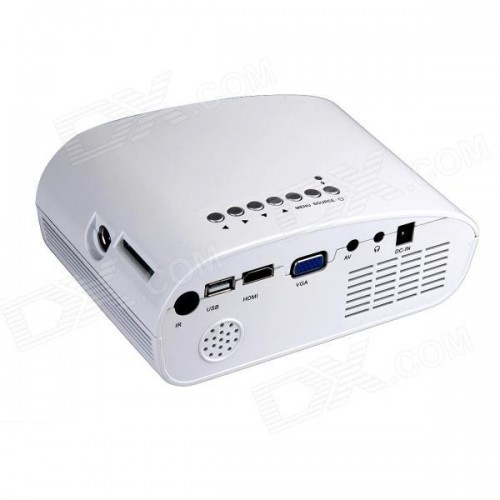 PROJECTOR LED ΜΕ ΕΙΣΟΔΟ HDMI/USB/SD/VGA