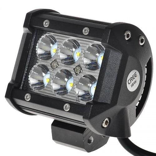 """Car Led Light Bar 4\\""""inch 18W 4D led Work Light Bars"""