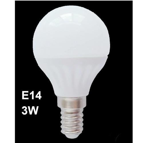 ΓΛΟΜΠΑΚΙ e14 LED 3W COOL