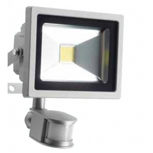 20W LED SMD Flood Light with PIR Sensor