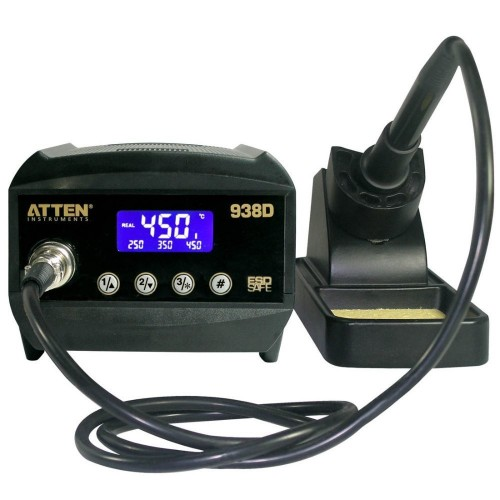 CERAMIC SOLDERING STATION 60W LCD ESD AT938D
