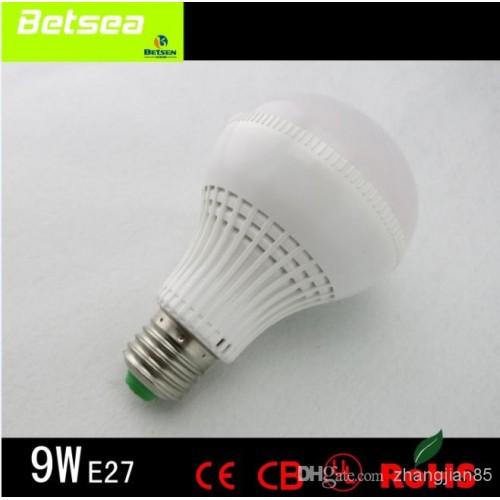ΛΑΜΠΑ ΜΕ LED 230V 9W E27 COOL WHITE