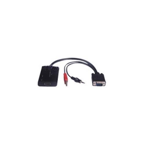 ΜΕΤΑΤΡΟΠΕΑΣ VGA KAI HXOY (+2 RCA) ΣΕ HDMI