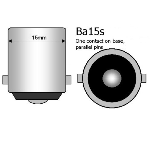 BA15S LED BULBS