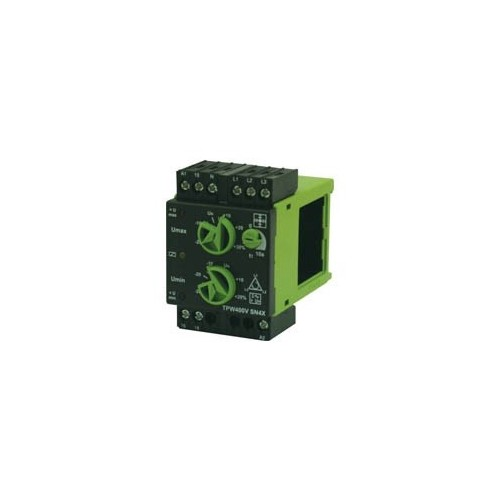 NETWORK MONITORING RELAY 3-PHASE (SEQUENCE + MIN + MAX)