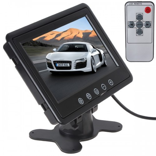 "TFT 9"" LCD COLOR MONITOR"