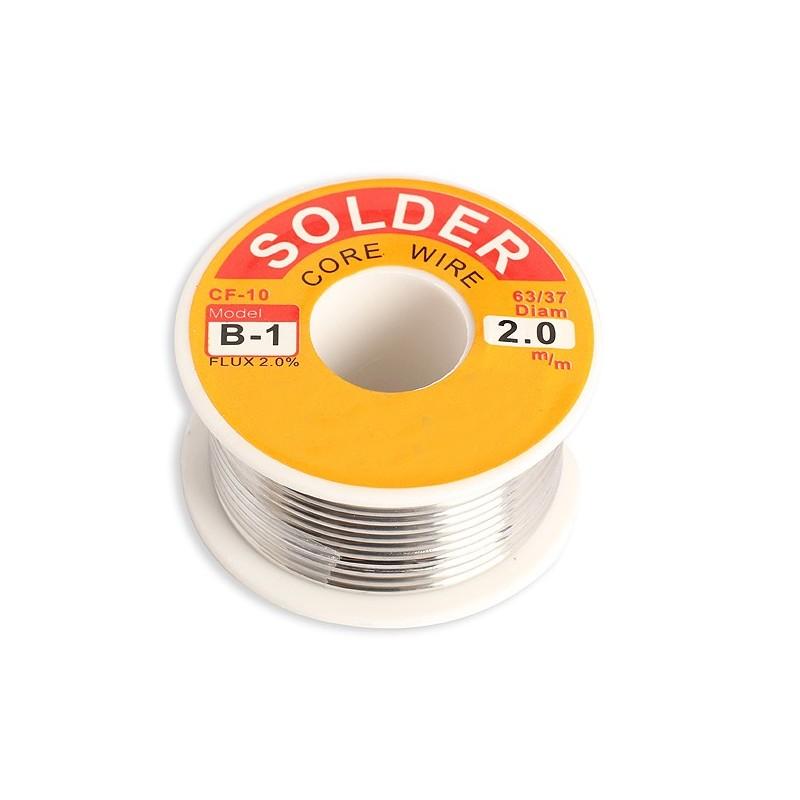 SOLDER WIRE 50G - 2mm
