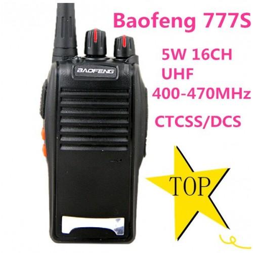 BAOFENG BF777S UHF 400-470Mhz Radio