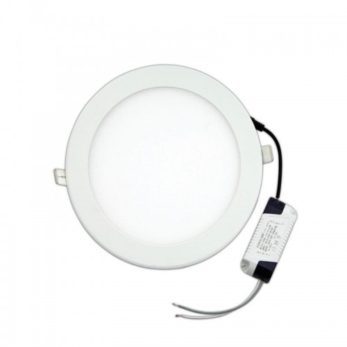 Circular LED Panel 18W 220mm surface downlight warm white