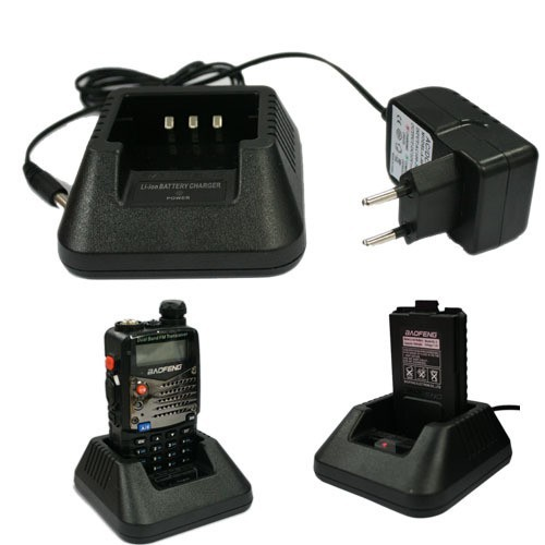 Genuine Baofeng Radio Desktop Charger Base