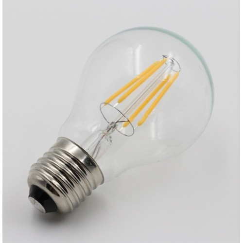 ΛΑΜΠΤΗΡΑΣ LED FILAMENT DIMMABLE 4W E27 - Α60
