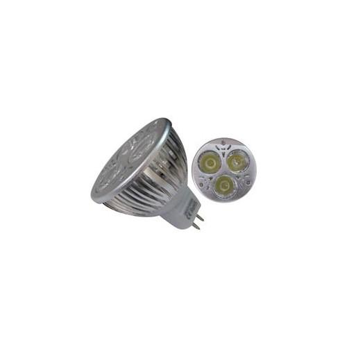 ΛΑΜΠΑ LED ΜΕ ΑΝΑΚΛΑΣΤΗΡΑ GU5.3 42V 3W 3 LED