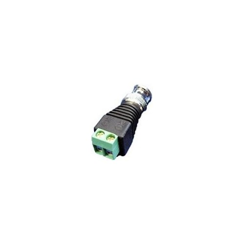 BNC MALE CONNECTOR ΜΕ ΚΛΕΜΑ ΣΥΝΔΕΣΗΣ