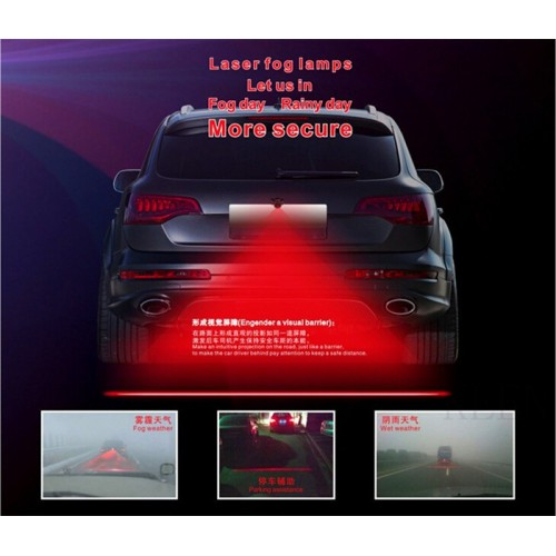 CAR LASER FOG LAMP HEADLIGHT