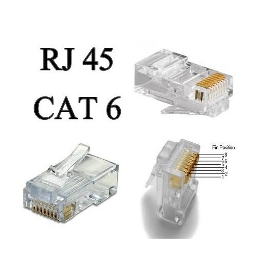 TELEPHONE PLUG 8P8C CAT6 YH8-8602