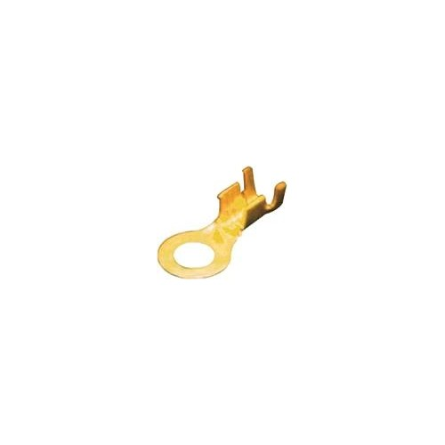 NAKED SINGLE-HOLE CABLE LUG 6.3-2.5 BRASS 6926451
