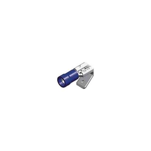Slide Cable Lug Insulated Female/Male Blue 0.8-6.35 PB2-6.4V