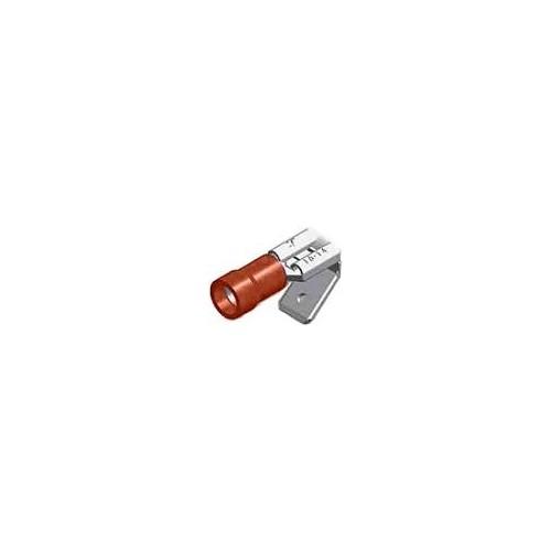 ΑΚΡΟΔΕΚΤΗΣ FASTON ΜΕ ΜΟΝΩΣΗ ΑΡΣ. & ΘΥΛ. 6.4mm ΓΙΑ ΑΓΩΓΟΥΣ 1,5mm