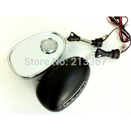 MOTORCYCLE MP3 REARVIEW CAR PLAYER