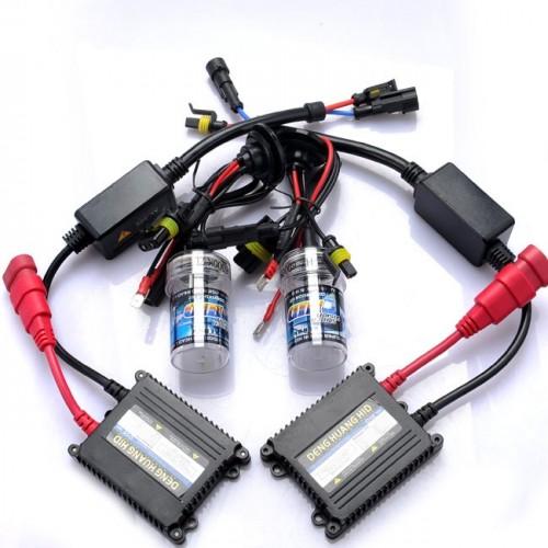 H11 (H8/H9) 6000K HID xenon bulb x 1 pair bundle with 2 x 35W Digital Ballast (Ultra White)