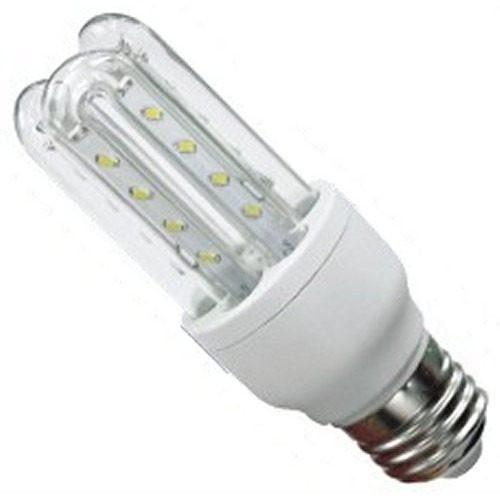 ΛΑΜΠΑ ΜΕ LED 230V 9W E27 COOL WHITE SMD 3U