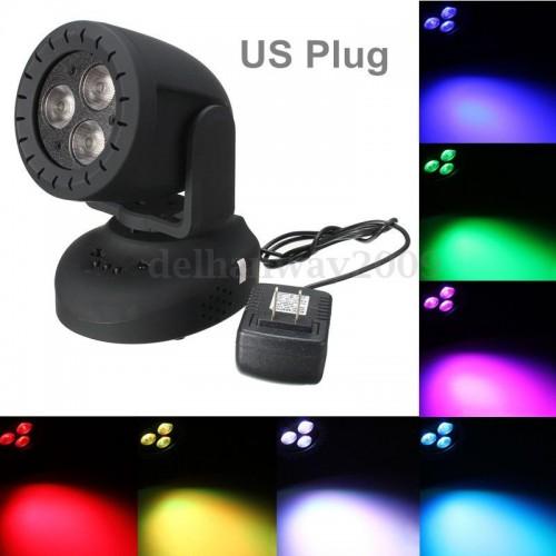 LED MOVING HEAD LEAD RGB 3x4W Multicolor
