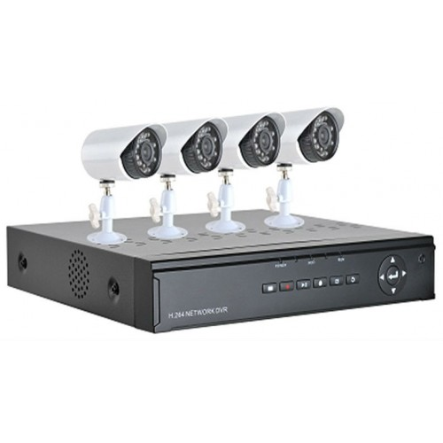 SET DVR ΚΑΤΑΓΡΑΦΙΚΟ HDMI 4CH - H264 4CH +20m ΚΑΛΩΔΙΑ + ΤΡΟΦΟΔΟΤΙΚΑ