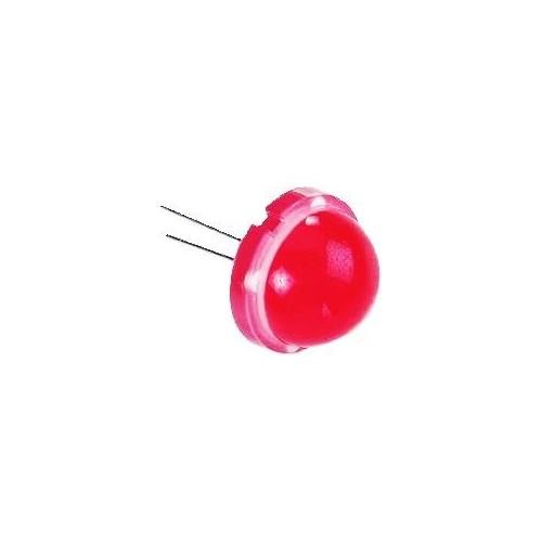 ΚΟΚΚΙΝΟ LED 20mm 120° 50mCd