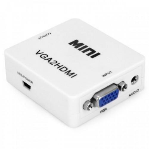 VGA TO HDMI - MINI BOX ΜΕΤΑΤΡΟΠΕΙΣ ΣΗΜΑΤΟΣ