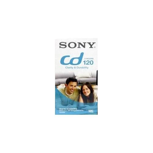 ΒΙΝΤΕΟΚΑΣΕΤΑ SONY CD 120 VHS 2 ΩΡΩΝ ΓΙΑ ΒΙΝΤΕΟ