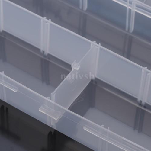 ΠΛΑΣΤΙΚΗ ΔΙΑΦΑΝΗΣ ΘΗΚΗ 260x120mm ΔΙΑΙΡΟΥΜΕΝΗ