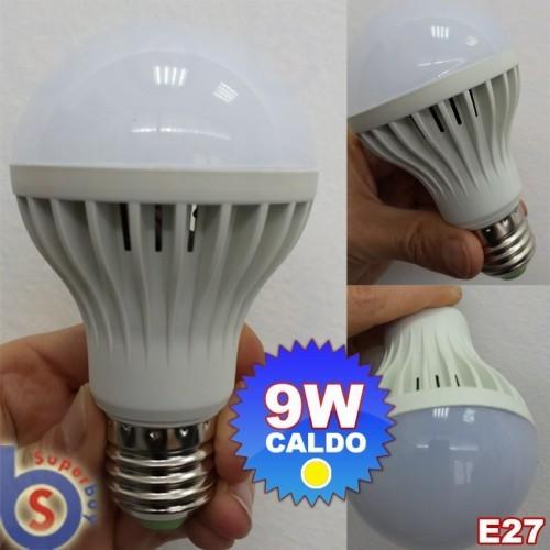 ΛΑΜΠΑ ΜΕ LED 230V 9W E27 WARM WHITE