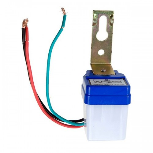 Adjustable Auto Day Night light sensor ST301 white small size automatic light control sensor Photocell switch