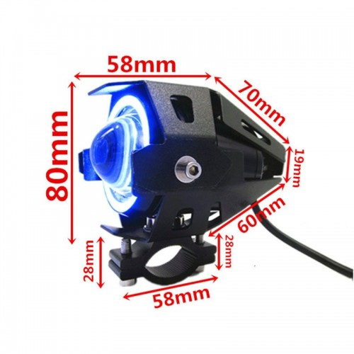 LED CREE U7 ANGEL EYES HEADLIGHT