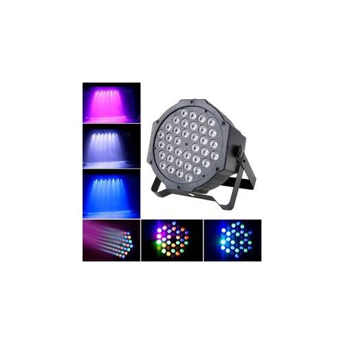 36 LED RGB 7 Mode Disco Lights Colorful Stage Light Automatic Control Flat Par Lights Sound