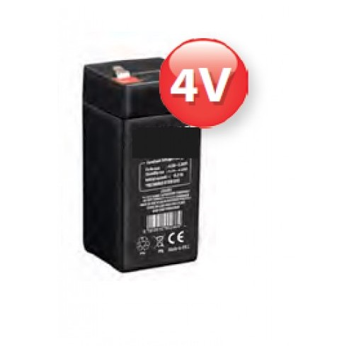 UL4.5-4: Lead Battery Waterproof 4V 4,5AH