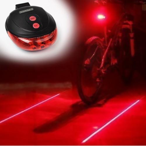 BICYCLE 2 LASER - 5 LED