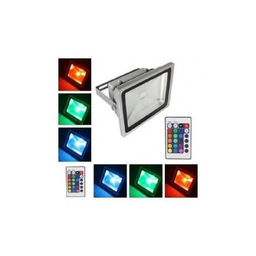 ΑΔΙΑΒΡΟΧΟΣ ΠΡΟΒΟΛΕΑΣ LED 50W RGB