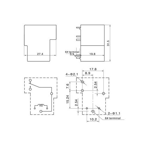 Q90F-1Z (1C/O) ΡΕΛΕ