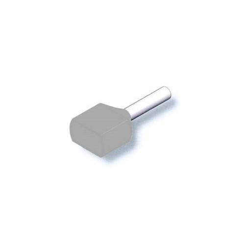 ΑΚΡΟΔ/ΤΗΣ ΣΩΛΗΝ.ΜΥΤΗ (ΑΚΡΟΧ/ΝΙΟ) 2ΠΛΟΣ ΛΕΥΚΟΣ 0.50mm