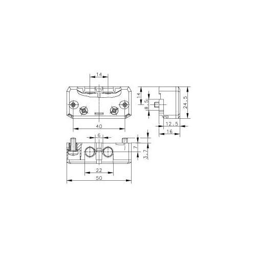 SET AUTOMATIC DOOR CONTACT FOR LIFTS EDC-71_DCA-18