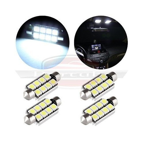 755243 AUTO LED LAMP 42mm WHITE CANBUS 2 ΤΕΜΑΧΙΑ