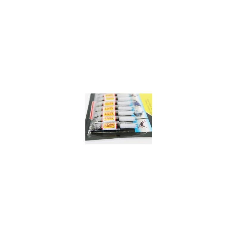 77002 12 ΤΕΜΑΧΙΑ ΚΥΑΝΟΑΚΡΙΛΙΚΗ ΚΟΛΛΑ ΣΤΙΓΜΗΣ SUPER GLUE 3GR